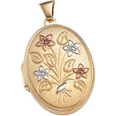 Flower Spray Locket