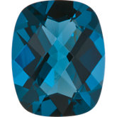 Antique Cushion Imitation Blue Zircon