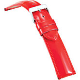 16mm Ladies Regular Red Select Patent Ez-Change Watch Strap
