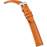 14mm Ladies Regular Tan Select Matte Bridle Watch Strap