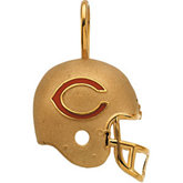 Chicago Bears Helmet Pendant
