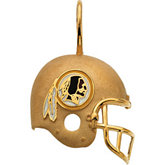 Washington Redskins Helmet Pendant