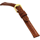 12mm Ladies Regular Genuine Lizard Honey Watch Strap