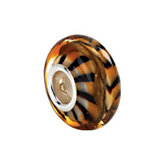 Kera™ Tiger Print Murano Glass Bead