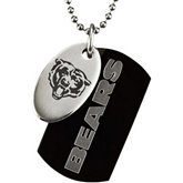 Chicago Bears Double Dog Tag w/chain