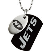 New York Jets Double Dog Tag w/chain