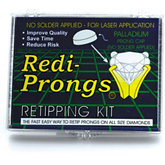 Redi Prong® Round Solderless Palladium Kit