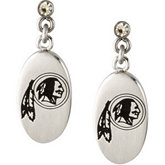 Washington Redskins Logo Dangle Earrings