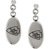 Kansas City Chiefs Logo Dangle Earrings
