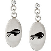 Buffalo Bills Logo Dangle Earrings