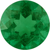 Round Genuine Emerald (Black Box)