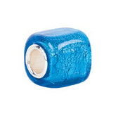 Kera™ Turquoise Square Glass Bead