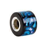Kera™ Sky Blue Inlaid Mosaic Mother of Pearl Bead