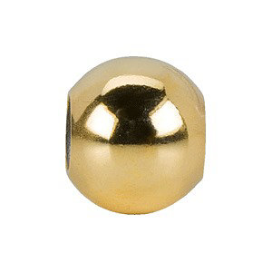 Yellow Gold Filled 8mm Yellow Gold Filled Smart Bead