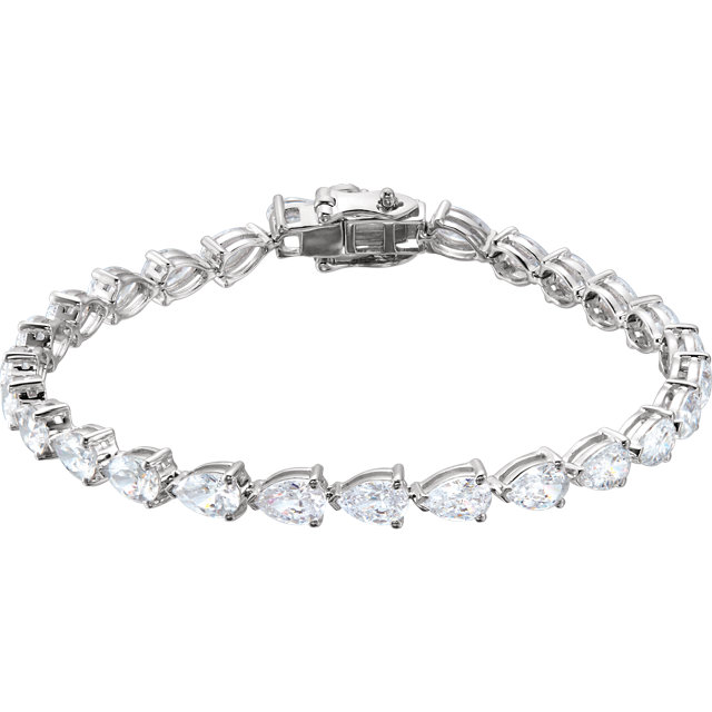 Sterling Silver Cubic Zirconia 7