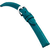 18mm Ladies Long Genuine Lizard EZ-Change Aqua Watch Strap