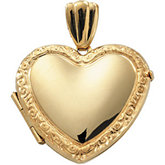 Medium Victorian Heart Locket