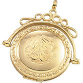 Round Swivel Locket