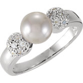 Ring Mounting for Pearl