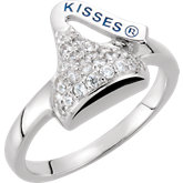 HERSHEY'S KISSES Cubic Zirconia Ring
