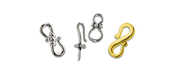 S-Hook & Eye Clasps