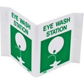 Eye-Wash-Station Sign