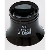 Bausch & Lomb®  Single Lens Loupe 5X