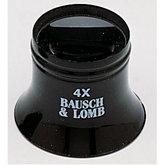 Bausch & Lomb®  Single Lens Loupe 4X