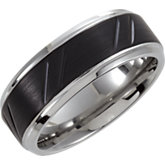 Dura Tungsten® Ridged Design Band