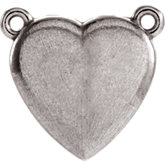 Heart Center or Necklace