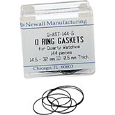 O-Ring Gasket Assortment (144 Pieces)