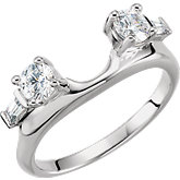 Diamond Accented Ring Wrap or Mounting