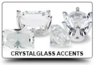 Crystal-Cut Glass Accents