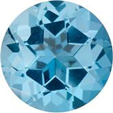 Ice Blue Topaz Genuine Machine-Cut