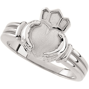 Ladies or Gents Claddagh Ring
