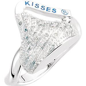 HERSHEYS KISSES .13 CTW Diamond Ring Ref 651196