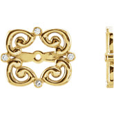Diamond Earring Jackets or Mounting