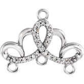 Accented Chandelier Dangle or Center
