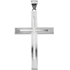 Hollow Cross Pendant