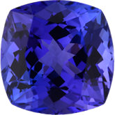 Antique Square Genuine Tanzanite (Black Box Matched Sets)