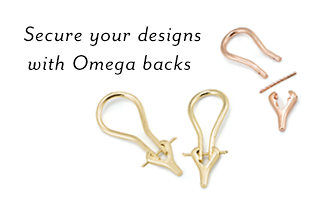 Secure your designs with Omega Backs
