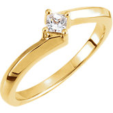 Teen Ring Mounting for Diamond
