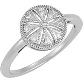 .04 ct tw Diamond Ring