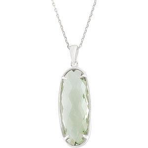 Genuine Quartz Necklace or Pendant