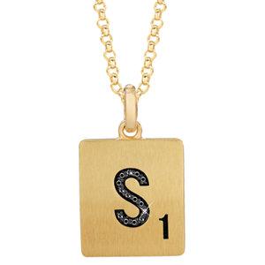 Scrabble® Diamond Necklace