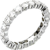 2 ct tw Round Diamond Eternity Band