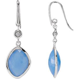 Missoma® Gemstone Drop Earrings