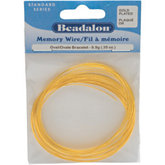 Beadalon® Gold Plated Memory Wire