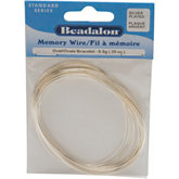 Beadalon® Silver Plated Memory Wire
