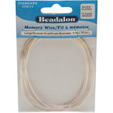 Beadalon® Large Silver Plated Memory Wire